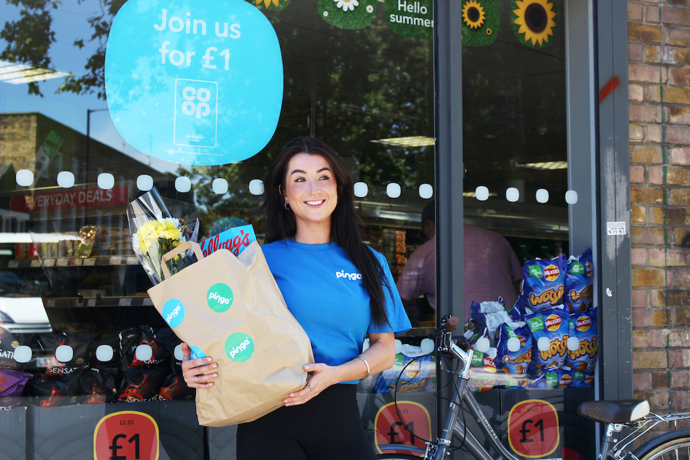 This is how delivery service Pinga is helping the High Street flourish