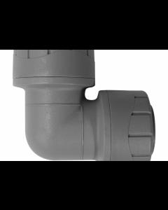 Polyplumb Push Fit Elbow 22mm