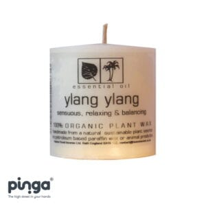 Ylang yland candle from Mother Earth